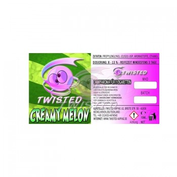 Twisted - Twisted Aroma - Creamy Melon - 10ml