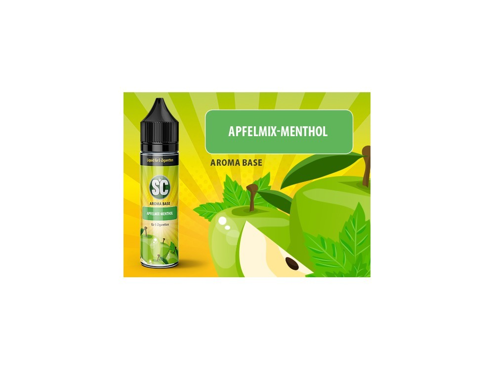 Vape Base - Apfelmix-Menthol 0mg/ml 50ml