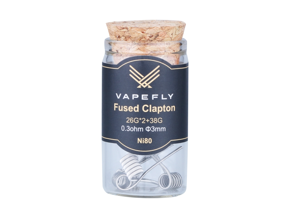 Vapefly Ni80 Fused Clapton Coil (6 Stück pro Packung)