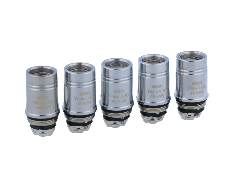 Steamax WS01 Triple Heads 0,2 Ohm (5 Stück pro Packung)