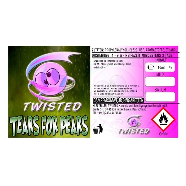 Twisted - Tears for Pears Aroma - 10ml