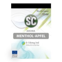 Menthol-Apfel​ SC-Liquid 0 mg/ml