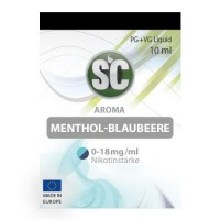 Menthol-Blaubeere​ SC-Liquid 0 mg/ml