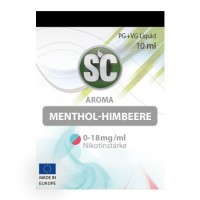 Menthol-Himbeere​ SC-Liquid 3 mg/ml