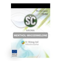 Menthol-Wassermelone SC-Liquid 3 mg/ml