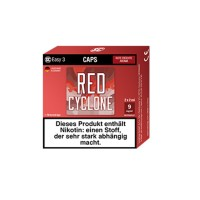 SC Easy 3 Caps Red Cyclone Rote Früchte (2 Stück pro Packung)