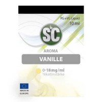 Vanille SC-Liquid 0 mg/ml