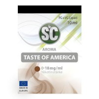 Taste of America Tabak​ SC E-Liquid 0 mg/ml